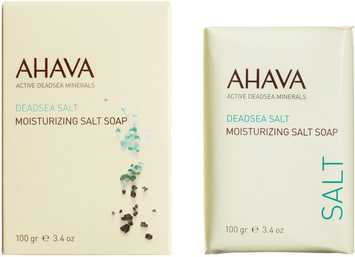 Ahava Deadsea Salt М Мыло на основе соли мертвого моря 100 гр ahava salt соль мертвого моря натуральная
