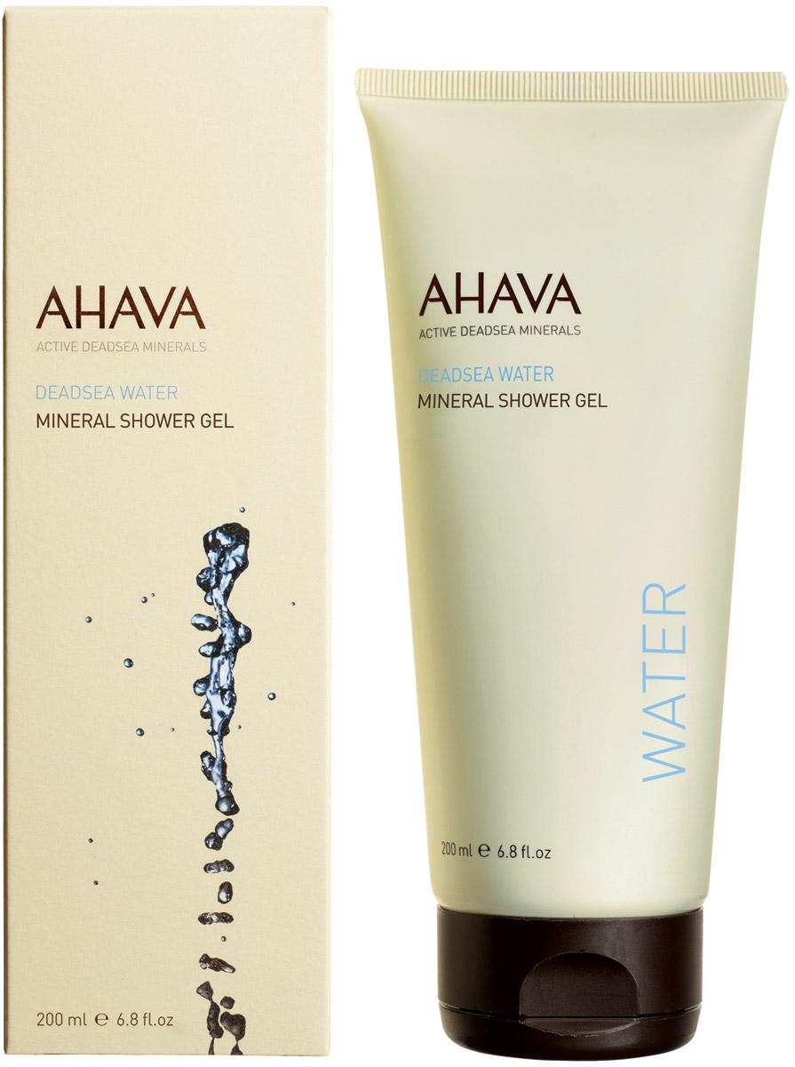 Ahava Deadsea Water М Минеральный гель для душа 200 мл пилинг для тела ahava deadsea water 200 мл