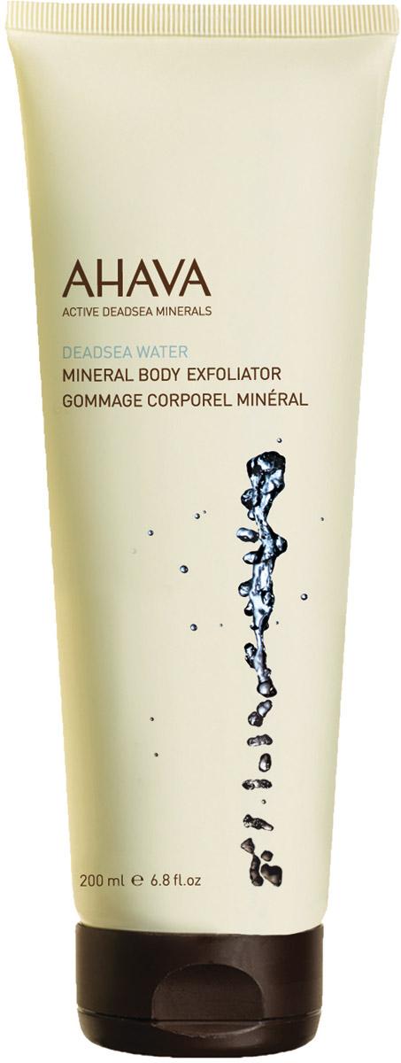 Ahava Deadsea Water М Минеральный скраб для тела 200 мл пилинг для тела ahava deadsea water 200 мл