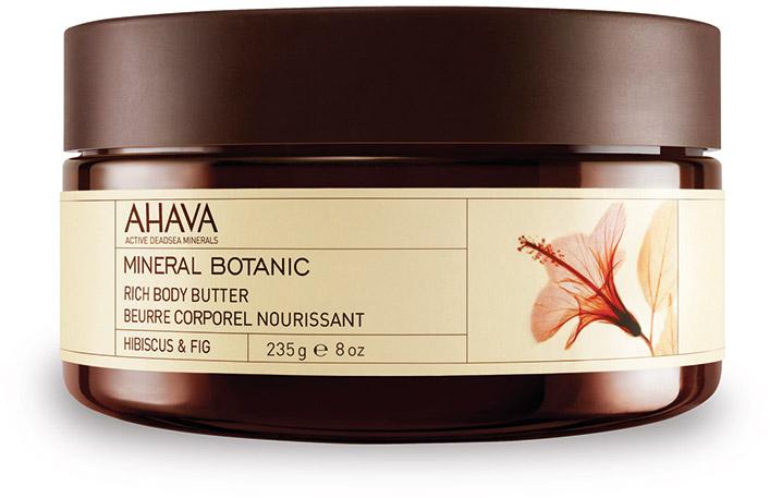 Ahava Mineral Botanic Насыщенное масло для тела гибискус и фига 235г80523065Мягкое и ультра питательное крем-масло для тела обеспечивает интенсивное увлажнение в течение всего дня. Масло персика, масло Ши смягчают и питают вашу кожу. Восхитительное сочетание гибискуса(китайская роза) и инжира, обладает восстанавливающими и защитными свойствами.