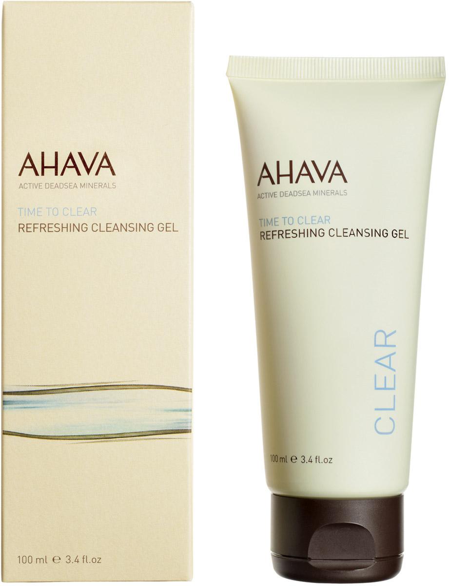 Ahava Time To Clear Освежающий гель для очищения кожи 100 мл81015065Обогащенный минералами гель, без мыла, чья мягкая формула обеспечивает деликатное и качественное очищение. Не сушит кожу. Полностью удаляет все загрязнения и макияж, делая кожу свежей, чистой и упругой.