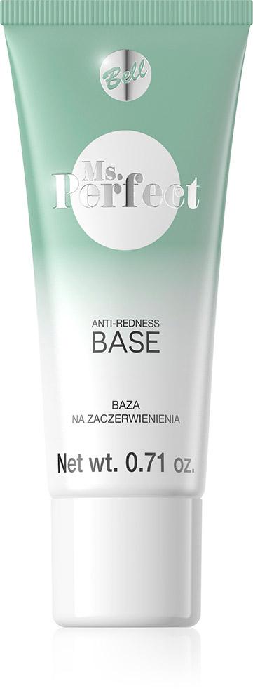 Bell База Нейтрализующая Покрасения Ms.perfect Anti-redness Base Тон 01, 20 млBiLbarP001База продевает стойкость макияжа. Зеленый цвет прекрасно маскирует покраснения и кровеносные сосуды на лице. Выравнивает цвет кожи и разглаживает ее. База содержит увлажняющие масло лесного ореха и витамин Е, который улучшает эластичность кожи.