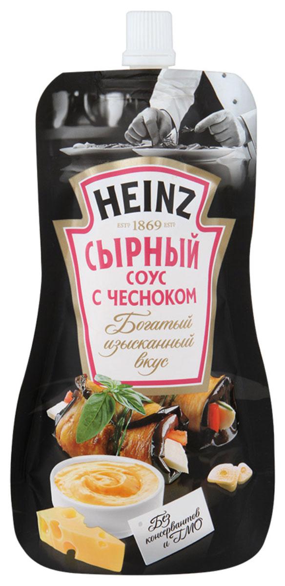 Heinz соус сырный с чесноком, 230 г