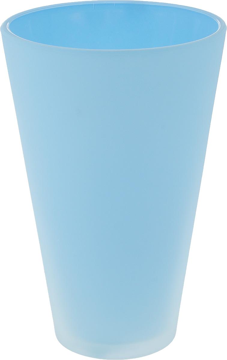 Кашпо NiNaGlass, цвет: голубой, высота 21 см91-014-Ф140 ГОЛКашпо NiNaGlass имеет уникальную форму, сочетающуюся как с классическим, так и с современным дизайном интерьера. Оно изготовлено из высококачественного стекла и предназначено для выращивания растений, цветов и трав в домашних условиях. Кашпо NiNaGlass порадует вас функциональностью, а благодаря лаконичному дизайну впишется в любой интерьер помещения. Диаметр кашпо (по верхнему краю): 14 см. Высота кашпо: 21 см.