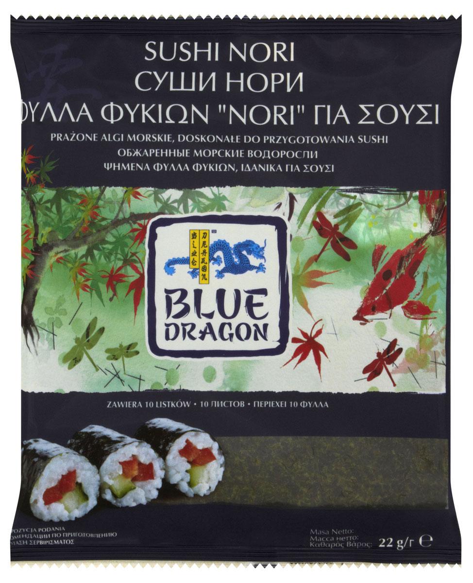 Blue Dragon Обжаренные морские водоросли Суши нори, 22 г