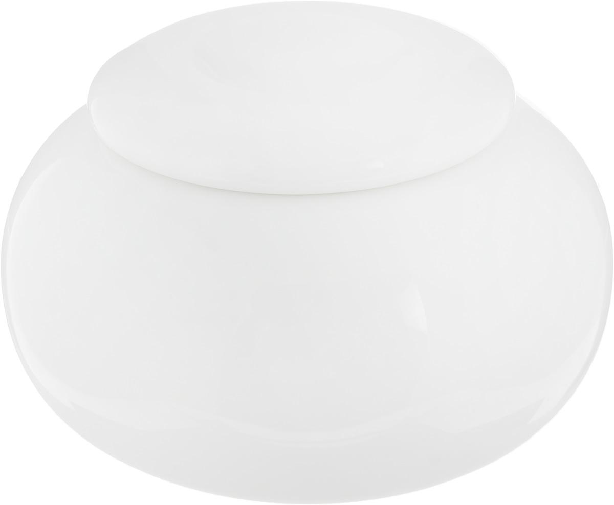 Сахарница Ariane Коуп, 9,5 х 9,5 х 6,5 смAVCARN66001Сахарница Ariane Коуп выполнена из высококачественного фарфора с глазурованным покрытием. Изделие имеет элегантную форму и может использоваться в качестве креманки. Десерт, поданный в такой посуде, будет ещё более сладким. Сахарница Ariane Коуп станет отличным дополнением к сервировке семейного стола и замечательным подарком для ваших родных и друзей. Можно мыть в посудомоечной машине и использовать в микроволновой печи. Диаметр (по верхнему краю): 5 см. Высота (с учетом крышки): 6,5 см.