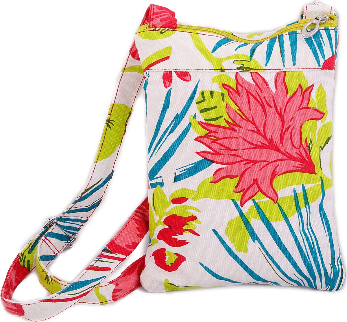 Пляжная сумка женская ГАНГ, цвет: красный. АА8373АА8373внутренний карман на молнии, 20*27*1, 5 см, длина лямки регулируется;