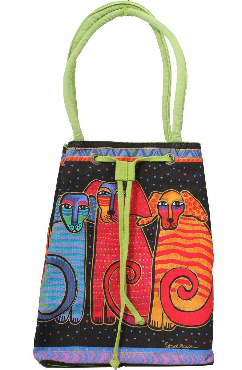 Пляжная сумка женская ГАНГ, цвет: зеленый. ЛБ413/1ЛБ413/1длина 30 см, ширина 20 см, высота 35 см, высота ручек 28 см, внутренний карман на молнии;