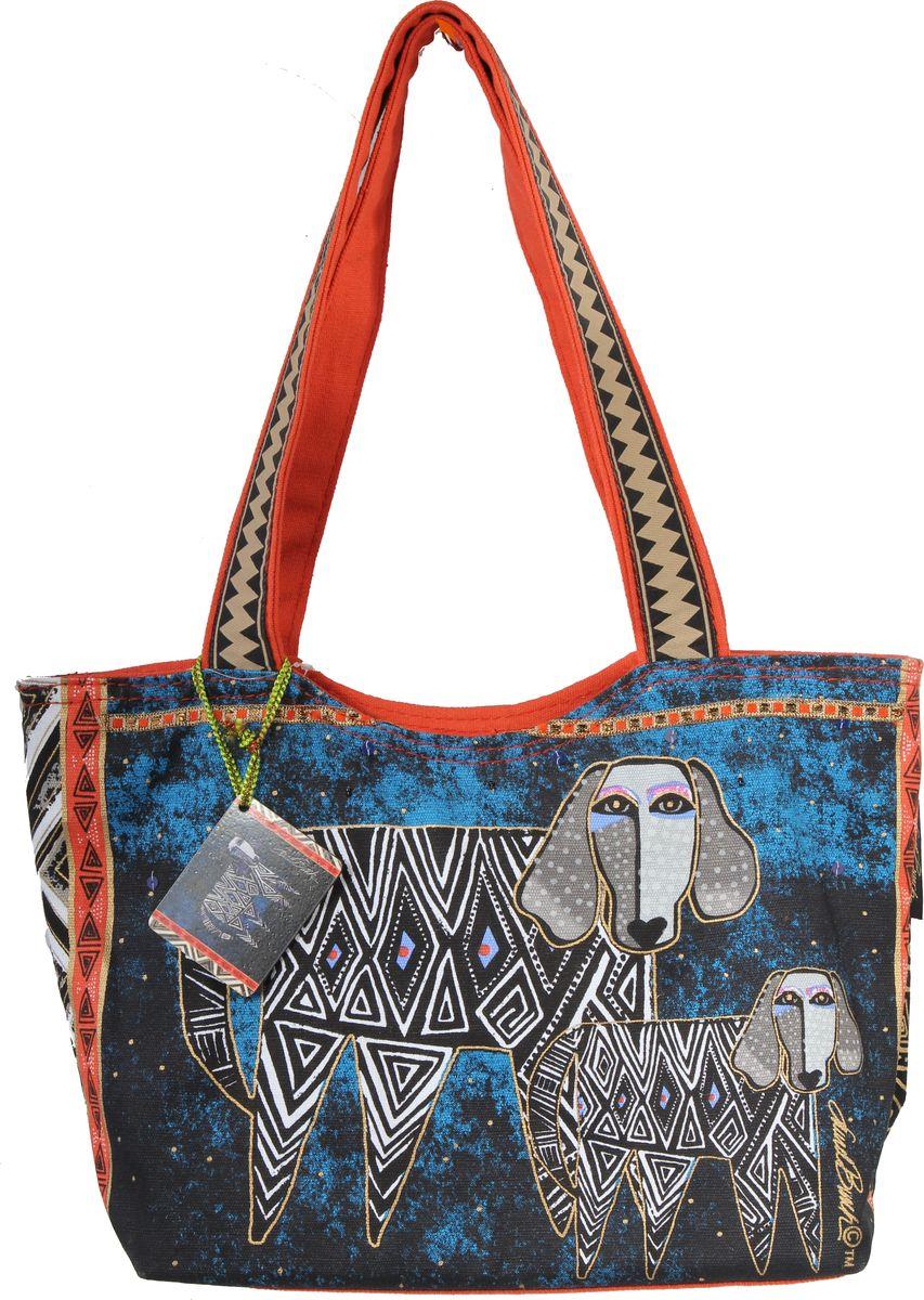 Пляжная сумка женская ГАНГ, цвет: синий. ЛБ5292ЛБ5292Высота 22 см, ширина 34 см, ширина дна 10 см, высота ручек 28 см, тип застежки молния, имеется внутренний карман на молнии;