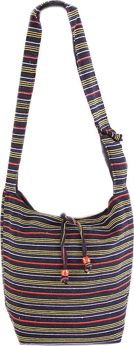 Пляжная сумка женская ГАНГ, цвет: зеленый. С3/7С3/7Состав: хлопок; Размер: 33*37*12 см; Цвет: мультиколор; Вес: 0.244кг; длинна лямки 50 см, подклад хлопок, внутри карман, карман на молнии снаружи, застежка молния.;