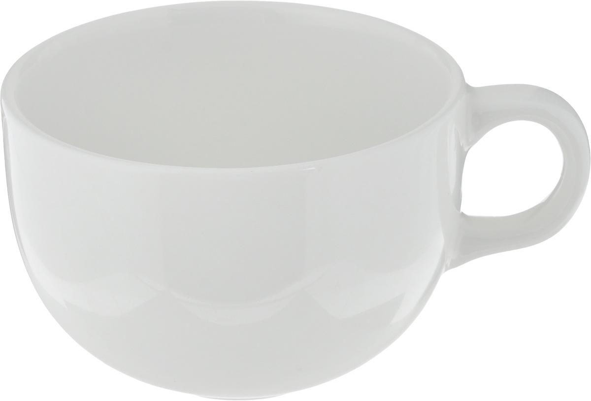 Чашка чайная Ariane Коуп, 230 млAVCARN44023Чашка Ariane Коуп выполнена из высококачественного фарфора с глазурованным покрытием. Изделие оснащено удобной ручкой. Нежнейший дизайн и белоснежность изделия дарят ощущение легкости и безмятежности. Изысканная чашка прекрасно оформит стол к чаепитию и станет его неизменным атрибутом. Можно мыть в посудомоечной машине и использовать в СВЧ. Диаметр чашки (по верхнему краю): 8,7 см. Высота чашки: 6 см.