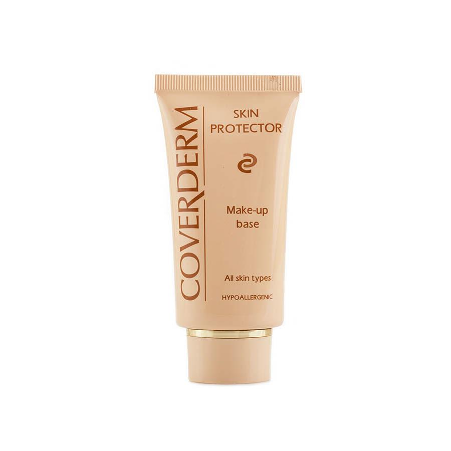 Coverderm Skin Protector Выравнивающая база под макияж Camouflage 50млС1010Увлажняющая база под макияж визуально выравнивает несовершенства кожи, мелкие морщинки, покраснения, шелушение кожи. Она заполняет микроуглубления, широкие поры и зрительно выравнивает кожу. Ваше лицо будет выглядеть естественно и иметь намного лучший вид, чем в тех случаях, когда неровности заполняет тональный крем. Повышает устойчивость макияжа, и делает его нанесение более легким. Быстро впитывается и прекрасно выравнивает цвет кожи. Благодаря большому количеству питательных веществ ее можно использовать и как базу для макияжа, и как самостоятельное средство.Ваша кожа приобретет сияющий ухоженный вид, а макияж будет естественным и свежим.