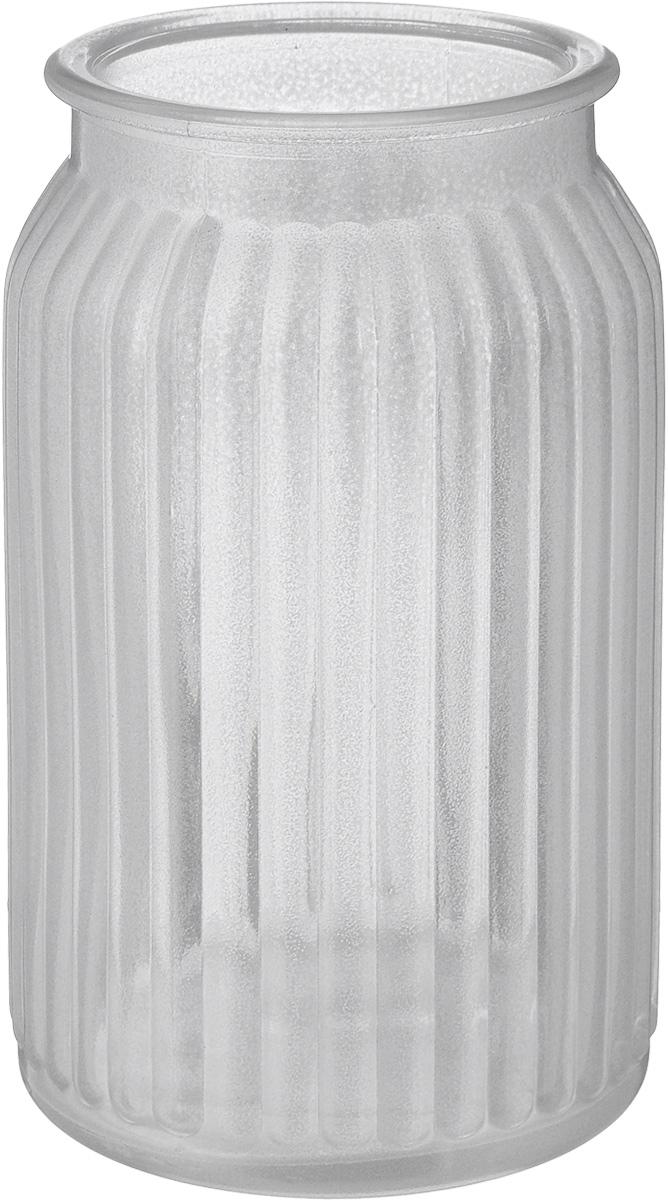 Ваза NiNaGlass Реана, цвет: серебряный, высота 19 см92-022 СЕРЕБВаза NiNaGlass Реана выполнена из высококачественного стекла и имеет изысканный внешний вид. Такая ваза станет ярким украшением интерьера и прекрасным подарком к любому случаю. Высота вазы: 19 см. Диаметр вазы (по верхнему краю): 10 см.