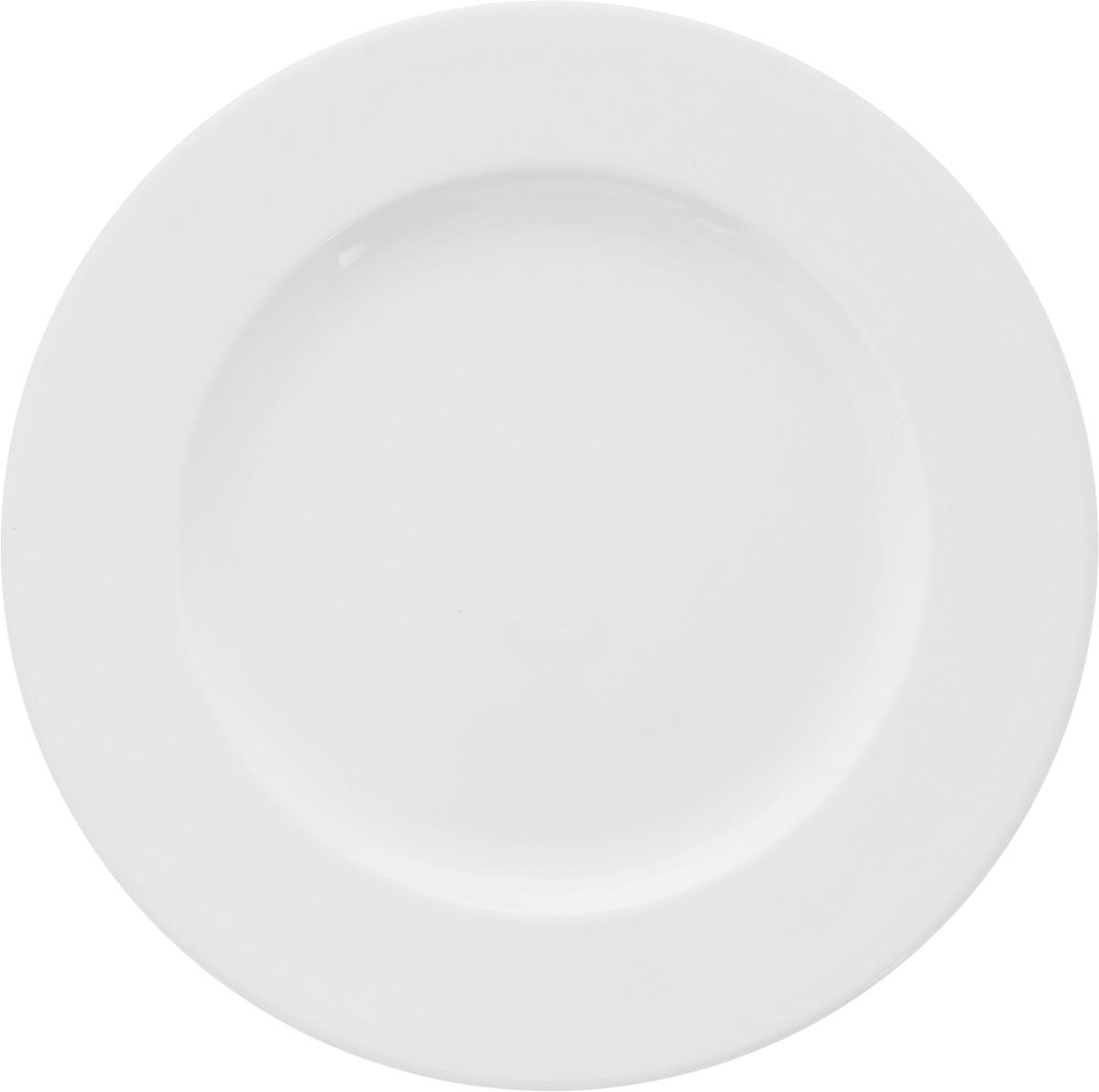 Тарелка мелкая Ariane Прайм, диаметр 27 см. APRARN11027APRARN11027Мелкая тарелка Ariane Прайм, изготовленная из высококачественного фарфора, имеет классическую круглую форму. Такая тарелка отлично подойдет в качестве блюда для сервировки закусок, нарезок, горячих блюд. Изделие прекрасно впишется в интерьер вашей кухни и станет достойным дополнением к кухонному инвентарю. Тарелка Ariane Прайм подчеркнет прекрасный вкус хозяйки и станет отличным подарком. Можно мыть в посудомоечной машине и использовать в микроволновой печи. Высота тарелки: 2 см. Диаметр тарелки: 27 см.