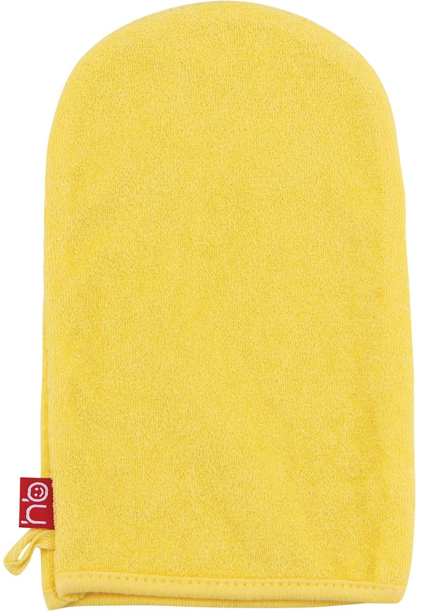 Happy Baby Мочалка-рукавица Wash&Bath цвет желтый