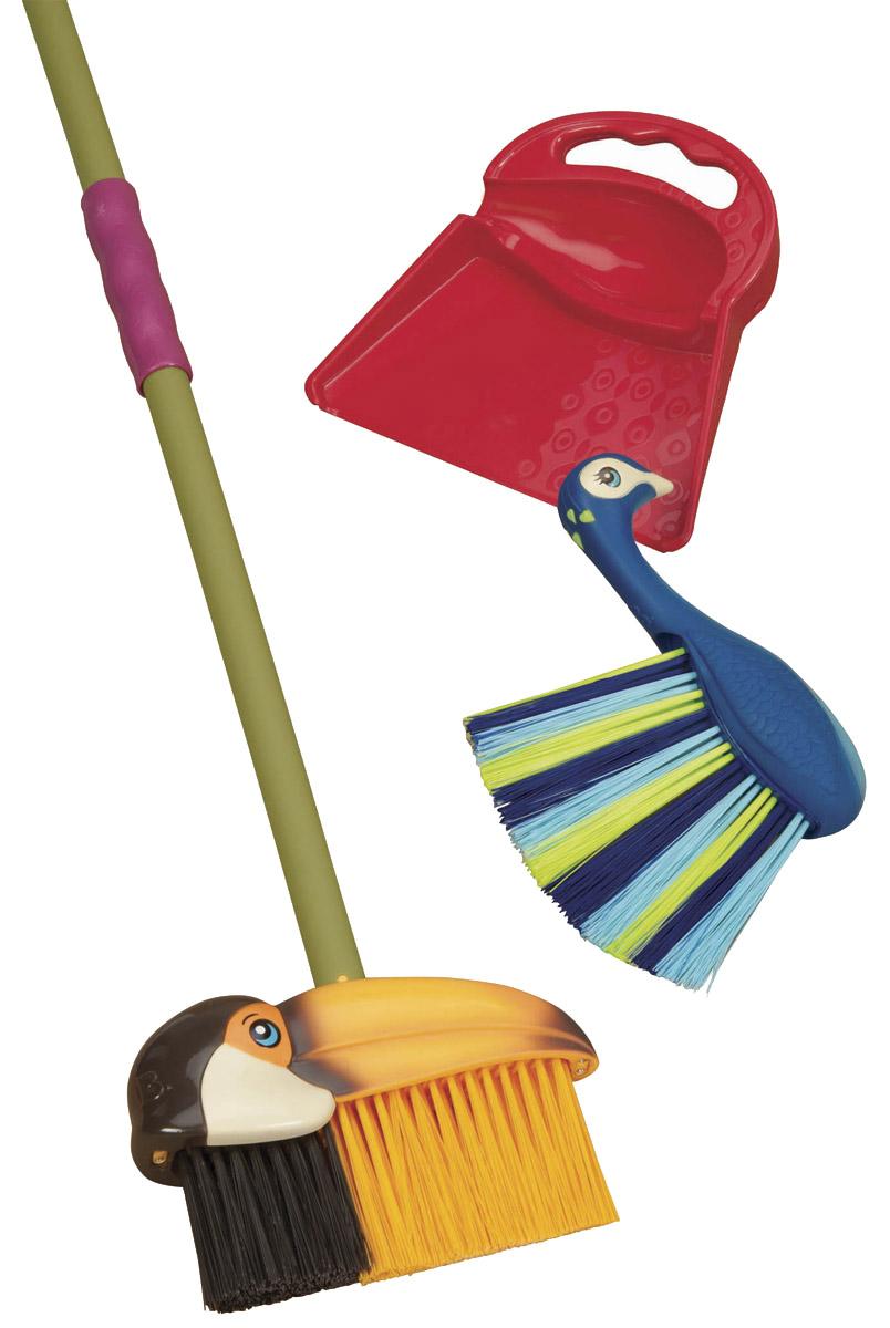 Подробнее о B.Dot Набор игрушечных принадлежностей для уборки пневмолобзик с набором принадлежностей
