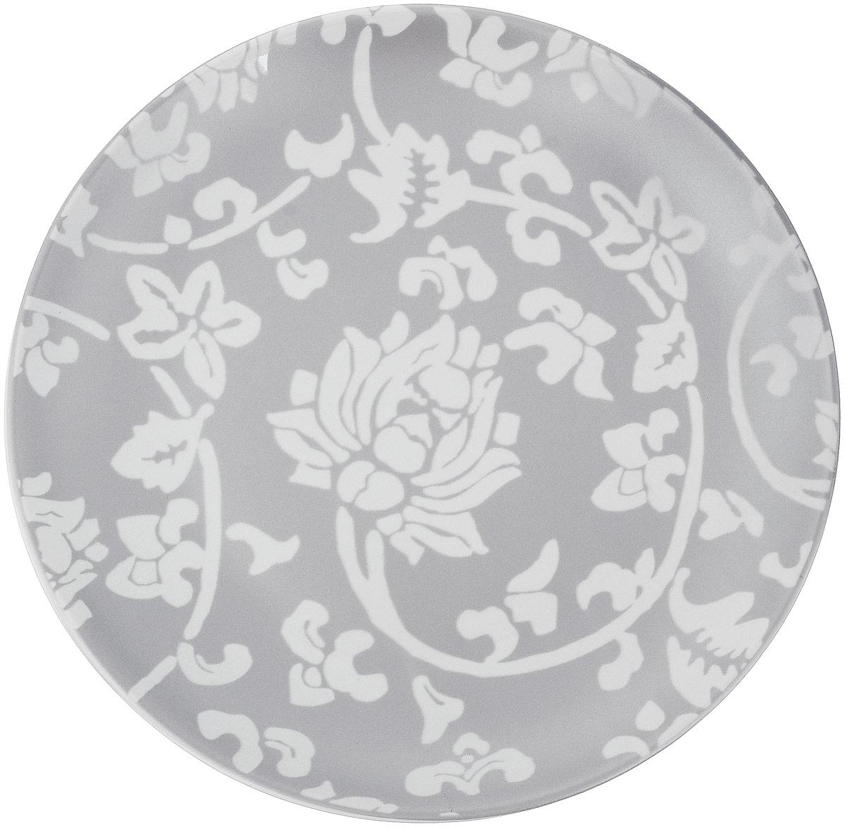 Тарелка десертная Sango Ceramics Джапан Деним Сильвер, диаметр 20,5 смUTJDS36810Десертная тарелка Sango Ceramics Джапан Деним Сильвер, изготовленная из высококачественной керамики, имеет изысканный внешний вид. Такая тарелка прекрасно подходит как для торжественных случаев, так и для повседневного использования. Идеальна для подачи десертов, пирожных, тортов и многого другого. Она прекрасно оформит стол и станет отличным дополнением к вашей коллекции кухонной посуды. Можно использовать в посудомоечной машине и СВЧ. Диаметр тарелки: 20,5 см. Высота тарелки: 2,4 см.