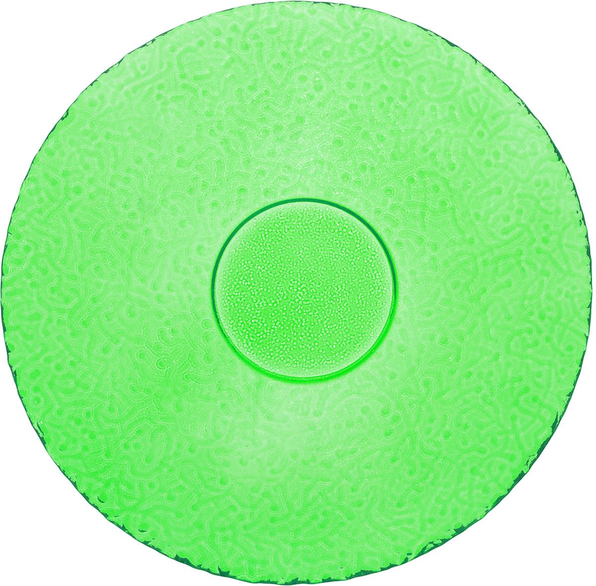 Тарелка NiNaGlass Ажур, цвет: зеленый, диаметр 21 см83-070-Ф210_зеленыйТарелка NiNaGlass Ажур выполнена из высококачественного стекла и имеет рельефную поверхность. Она прекрасно впишется в интерьер вашей кухни и станет достойным дополнением к кухонному инвентарю. Тарелка NiNaGlass Ажур подчеркнет прекрасный вкус хозяйки и станет отличным подарком. Диаметр тарелки: 21 см. Высота: 2,5 см.