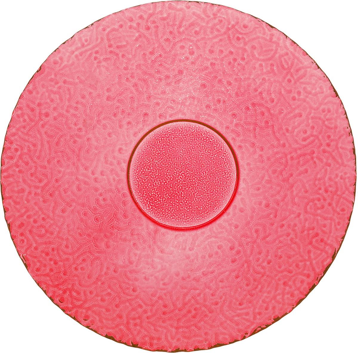 Тарелка NiNaGlass Ажур, цвет: рубиновый, диаметр 21 см83-070-Ф210_рубиновыйТарелка NiNaGlass Ажур выполнена из высококачественного стекла и имеет рельефную поверхность. Она прекрасно впишется в интерьер вашей кухни и станет достойным дополнением к кухонному инвентарю. Тарелка NiNaGlass Ажур подчеркнет прекрасный вкус хозяйки и станет отличным подарком. Диаметр тарелки: 21 см. Высота: 2,5 см.