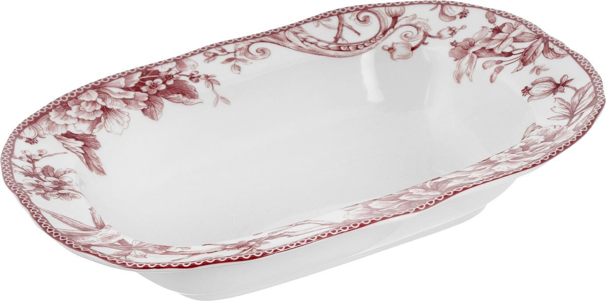 Салатница Sango Ceramics Аделаида Бордо, диаметр 28,5 смUTAB97040Керамика. Ручная работа. Можно использовать в СВЧ и ПММ