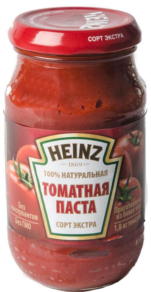 Heinz томатная паста, 310 г76005508Томатная паста Heinz сорта экстра изготовлена только из спелых помидоров, выращенных с особой заботой и любовью. Именно благодаря пристальному контролю специалистов она отвечает высочайшим стандартам качества. 100% натуральная томатная паста соответствует требованиям ГОСТ и обладает таким насыщенным вкусом, что даже небольшое ее количество сделает вкус ваших любимых блюд глубоким и изысканным. Суп, домашний соус и пицца обретают всю полноту вкуса благодаря знаниям о томатах и многолетнему опыту.