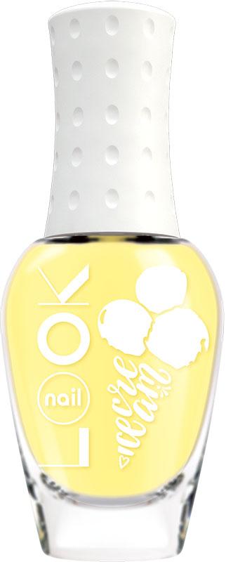 Nail LOOK Лак для ногтей Nail LOOK серии Yummy Ice Cream, Mango Tango, 8,5 мл31493Лето-пора беззаботного веселья, отдыха, ярких нарядов и буйства красок. В жаркую погоду хочется побаловать себя чем то вкусным и освежающим. Представляем игривую и вкусную летнюю коллекцию Yummy Ice Cream. Насыщенный желтый оттенок, доминирующий цвет летней палитры. Похож на солнечную спелую мякоть экзотического фрукта.
