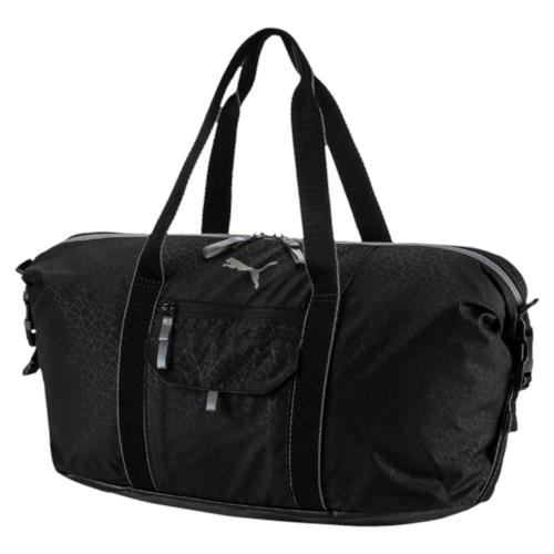 Сумка спортивная жен Puma Fit At Workout Bag, цвет: черный. 07437401, 23 л07437401