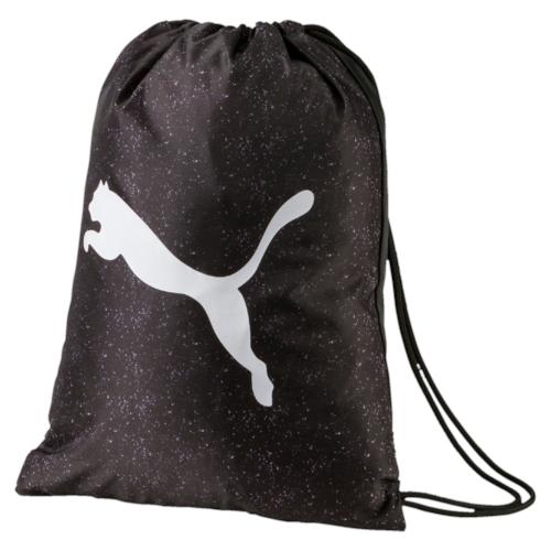 Рюкзак спортивный Puma Alpha Gym Sack, цвет: черный. 07440701, 12,5 л