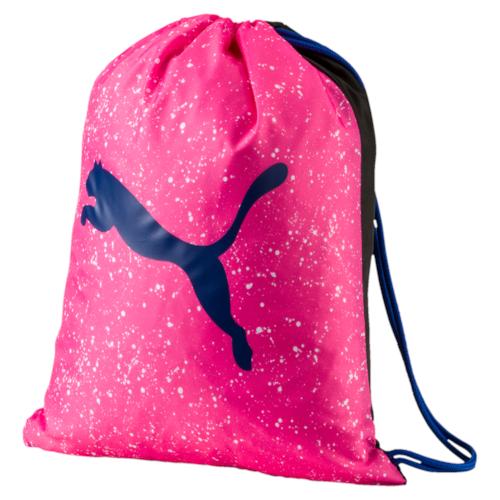 Рюкзак спортивный Puma Alpha Gym Sack, цвет: розовый. 07440702, 12,5 л