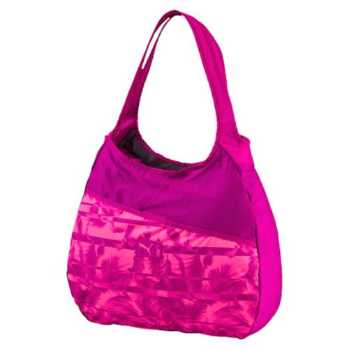 Сумка жен Puma Studio Hobo Bag, цвет: розовый. 07443103, 17,5 л