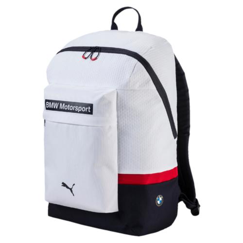 Рюкзак городской Puma Bmw Motorsport Backpack, цвет: белый. 07448601, 25 л07448601