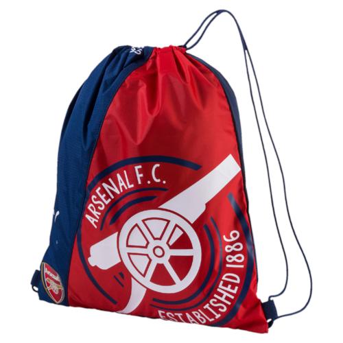 Рюкзак спортивный Puma Arsenal Fanwear Gym Sack, цвет: синий, красный. 0746210107462101