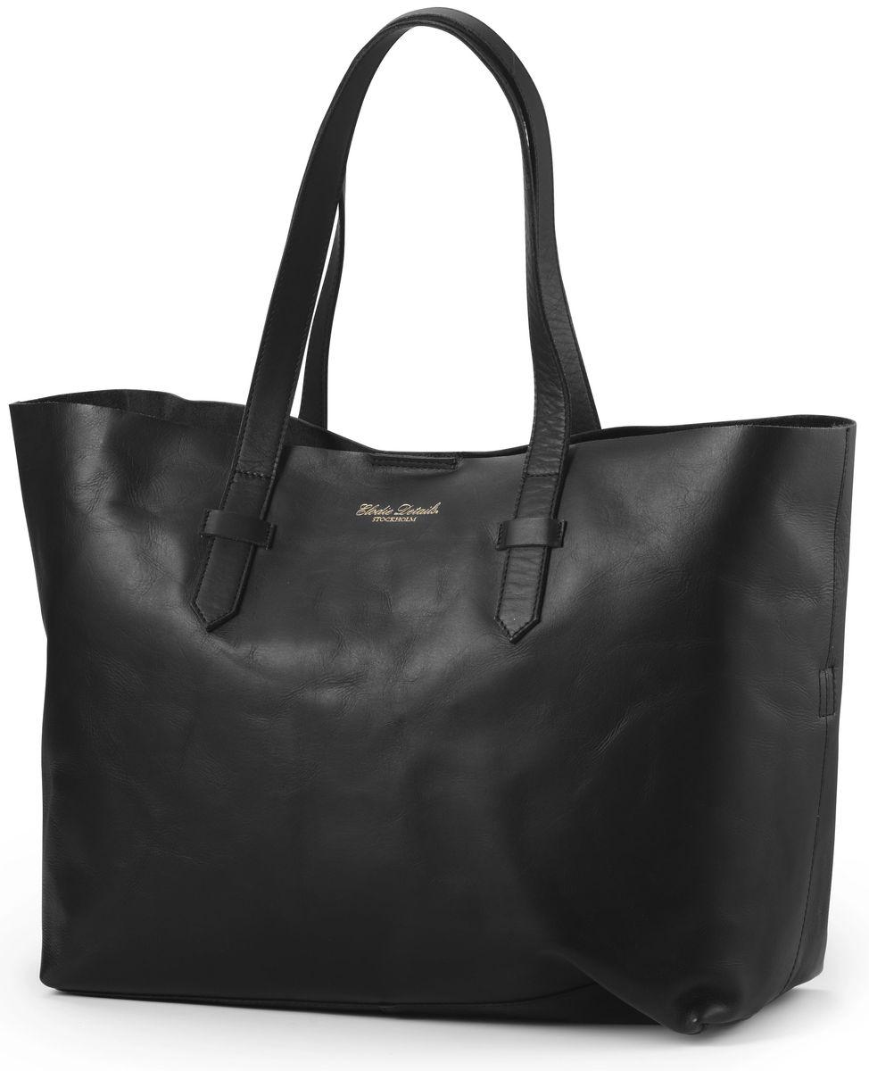 Elodie Details Сумка для мамы Black Leather цвет черный 103613