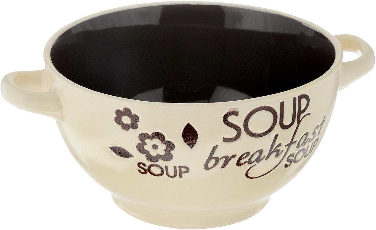 Салатник HomeStar Бранч, с ручками, диаметр 14 смLJ14-3555-2083Салатник HomeStar Бранч покорит вас своей красотой и качеством исполнения. Изделие выполнено из высококачественной керамики и оснащено двумя удобными ручками. Такой салатник прекрасно подходит для холодных и горячих блюд: каш, хлопьев, супов, салатов. Он дополнит коллекцию вашей кухонной посуды и будет служить долгие годы. Можно использовать в посудомоечной машине и микроволновой печи. Диаметр салатника (по верхнему краю): 14 см. Ширина салатника (с учетом ручек): 18 см. Высота стенки салатника: 8 см.