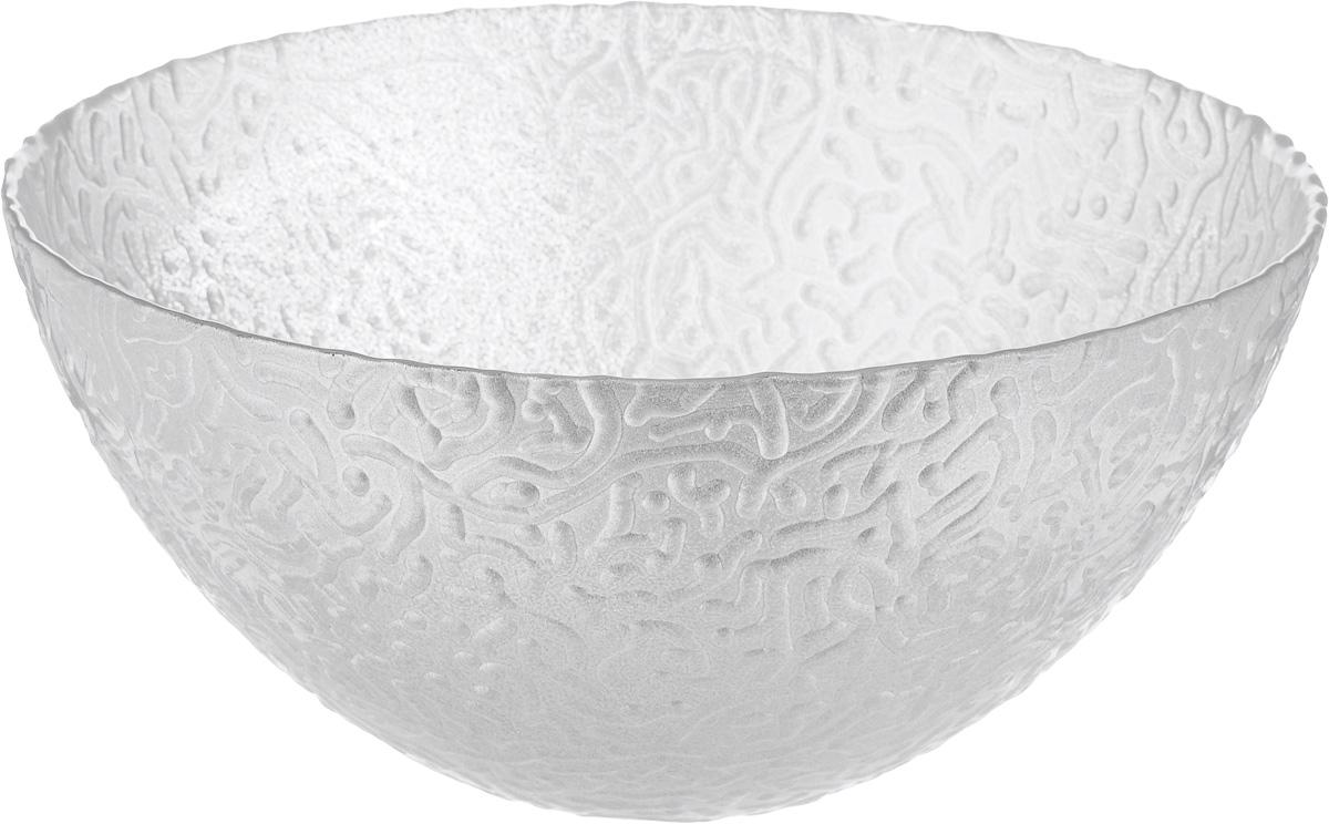 Салатник NiNaGlass Ажур, цвет: серебряный, диаметр 20 см83-042-Ф200 СЕРЕБМЕТСалатник NiNaGlass Ажур выполнен из высококачественного стекла, с внешней стороны изделие имеет рельефную форму. Салатник прекрасно впишется в интерьер вашей кухни и станет достойным дополнением к кухонному инвентарю. Салатник NiNaGlass Ажур подчеркнет прекрасный вкус хозяйки и станет отличным подарком. Диаметр салатника (по верхнему краю): 20 см. Высота салатника: 9 см.