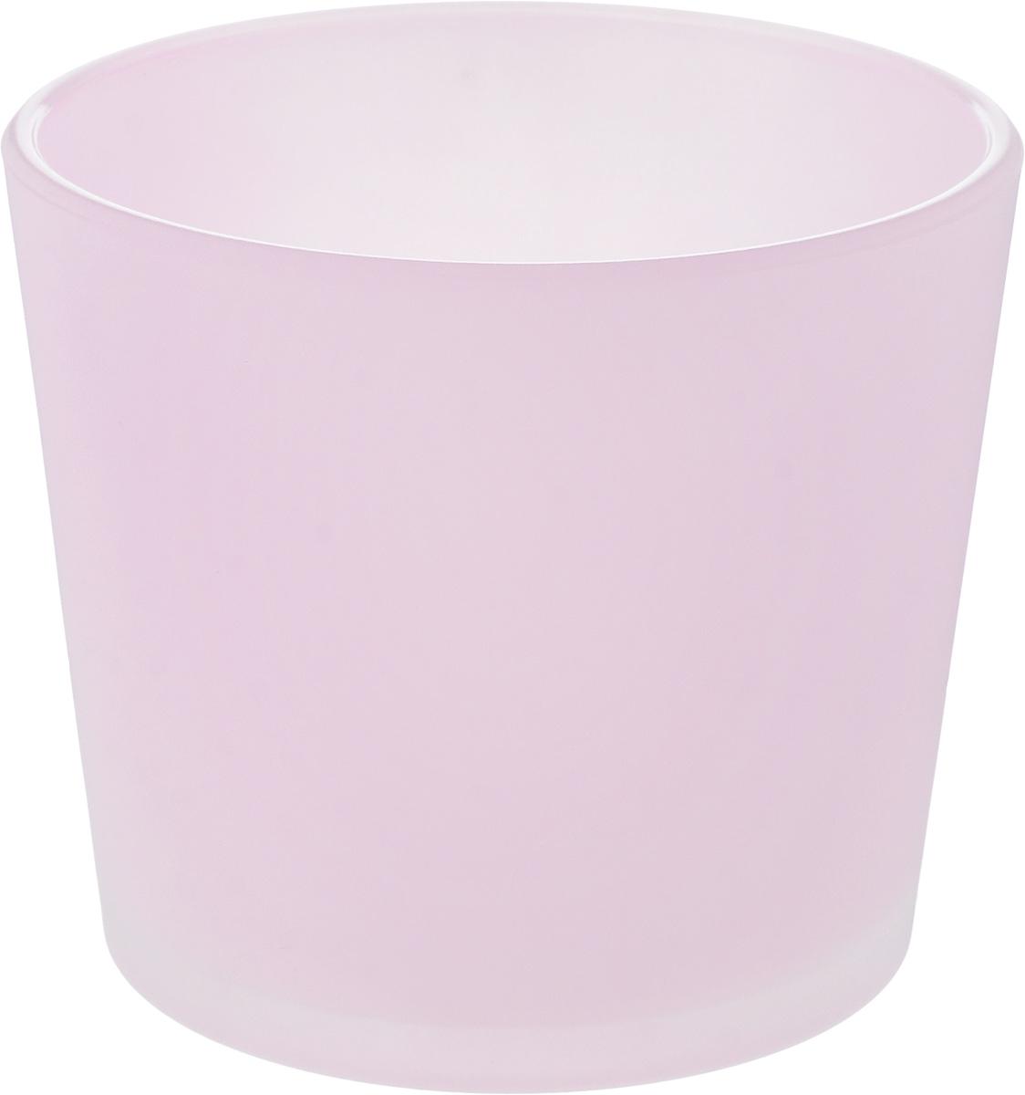 Кашпо NiNaGlass, цвет: розовый, высота 12,5 см91-011-Ф145_розовыйКашпо NiNaGlass имеет уникальную форму, сочетающуюся как с классическим, так и с современным дизайном интерьера. Оно изготовлено из высококачественного стекла и предназначено для выращивания растений, цветов и трав в домашних условиях. Кашпо NiNaGlass порадует вас функциональностью, а благодаря лаконичному дизайну впишется в любой интерьер помещения. Диаметр кашпо (по верхнему краю): 14,5 см. Высота кашпо: 12,5 см.