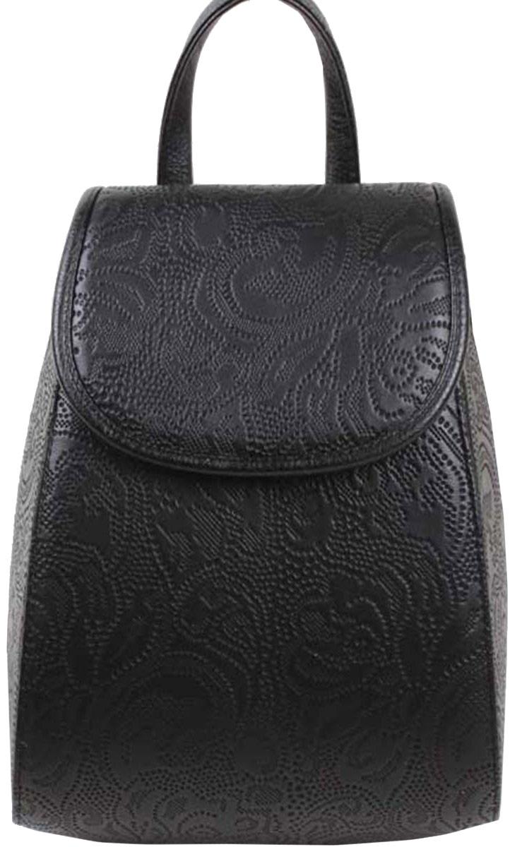 Рюкзак женский Медведково, цвет: черный. 16с3818-к1416с3818-к14Рюкзак с одним отделением на молнии, внутри карман на молнии. Два заплечных ремня, регулируемые по длине.
