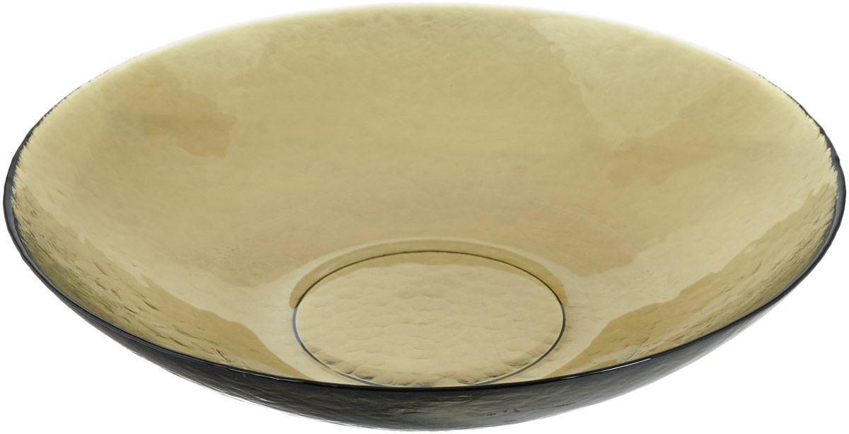 Салатник NiNaGlass Богемия, цвет: дымчатый, диаметр 38 см83-065-Ф380 СМОКИТЕРМСалатник NiNaGlass Богемия выполнен из высококачественного стекла. Идеален для сервировки большого количества салатов, овощей и фруктов, ягод, вторых блюд, гарниров и многого другого. Он отлично подойдет как для повседневных, так и для торжественных случаев. Такой салатник прекрасно впишется в интерьер вашей кухни и станет достойным дополнением к кухонному инвентарю. Диаметр салатника (по верхнему краю): 38 см. Высота стенки: 9 см.