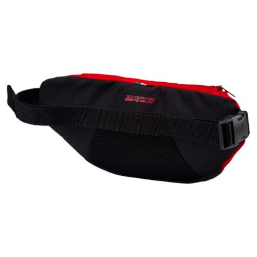 Сумка поясная Puma Ferrari Fanwear Waist Bag, цвет: красный. 07450301, 2 л07450301