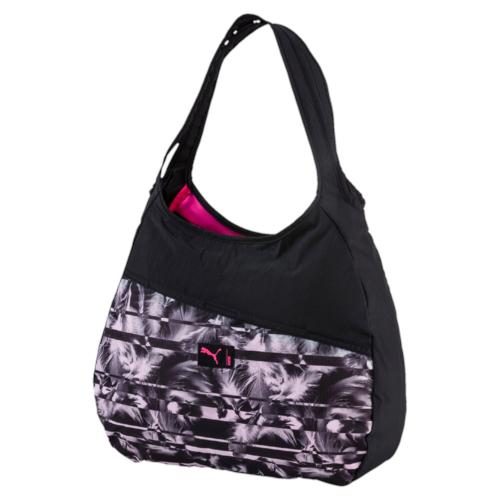 Сумка жен Puma Studio Hobo Bag, цвет: черный. 07443101, 17,5 л