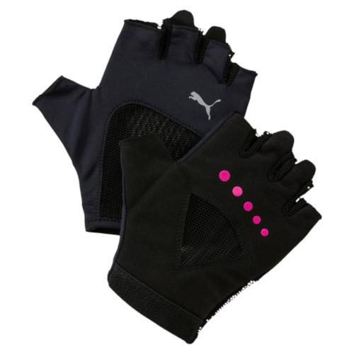 Перчатки для фитнеса жен Puma Gym Gloves, цвет: черный. 04126504. Размер M (9)04126504