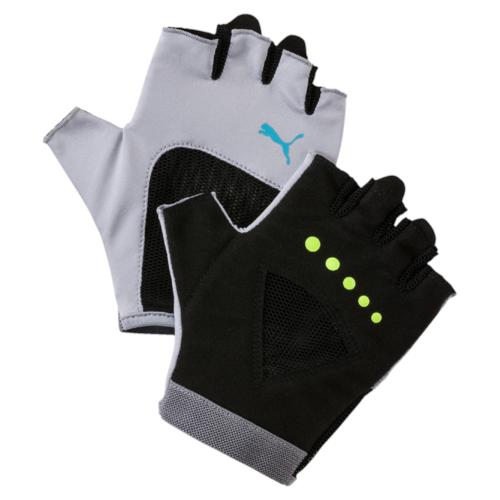 Перчатки для фитнеса жен Puma Gym Gloves, цвет: светло-серый. 04126505. Размер M (9)04126505