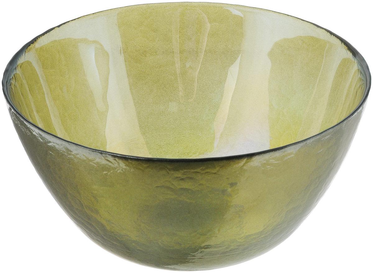 Салатник NiNaGlass Богемия, цвет: оливковый, диаметр 21 см83-057-Ф210 ИТОМСалатник NiNaGlass Богемия выполнен из высококачественного стекла. Идеален для сервировки салатов, овощей и фруктов, ягод, вторых блюд, гарниров и многого другого. Он отлично подойдет как для повседневных, так и для торжественных случаев. Такой салатник прекрасно впишется в интерьер вашей кухни и станет достойным дополнением к кухонному инвентарю. Диаметр салатника (по верхнему краю): 21 см. Высота стенки: 10,5 см.