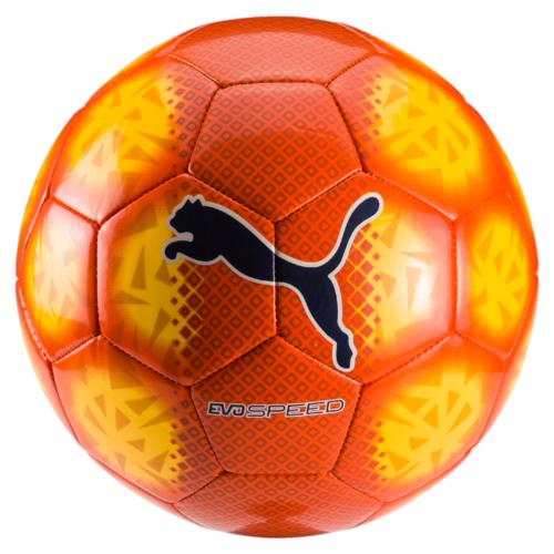 Мяч футбольный Puma Evospeed 5.5 Fade Ball, цвет: оранжевый. 08265806. Размер 508265806
