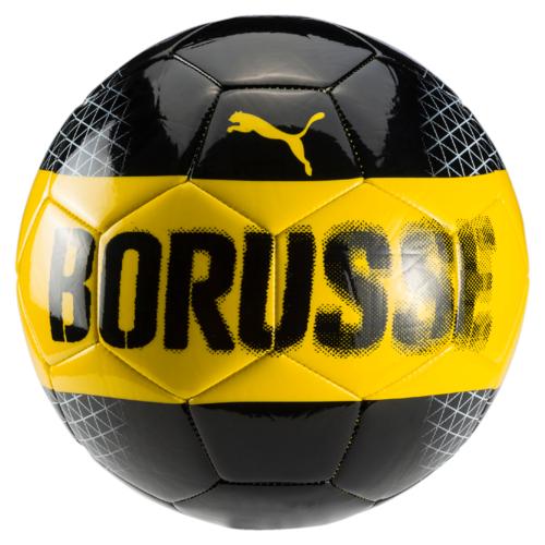 Мяч футбольный Puma Bvb Fan Ball, цвет: черный, желтый. 08274501. Размер 508274501