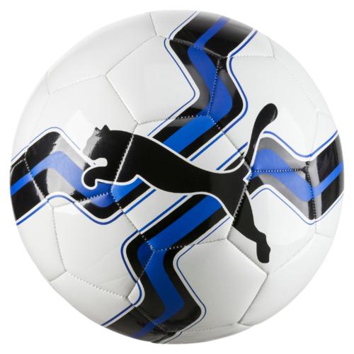 Мяч футбольный Puma Big Cat Ball, цвет: белый, синий. 08275801. Размер 5
