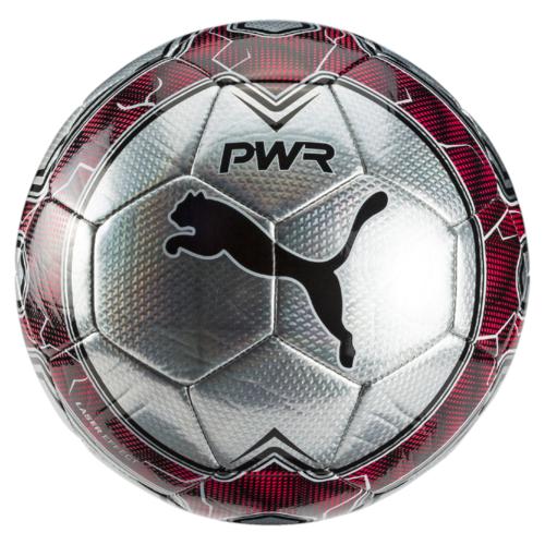 Мяч футбольный Puma Evopower Vigor Graphic 4, цвет: серебристый. 08273738. Размер 508273738