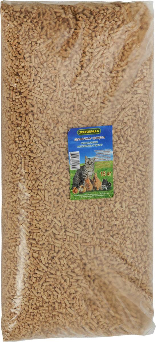 """Наполнитель для туалета """"Zooformula"""", древесный, 15 кг 00-00000233"""