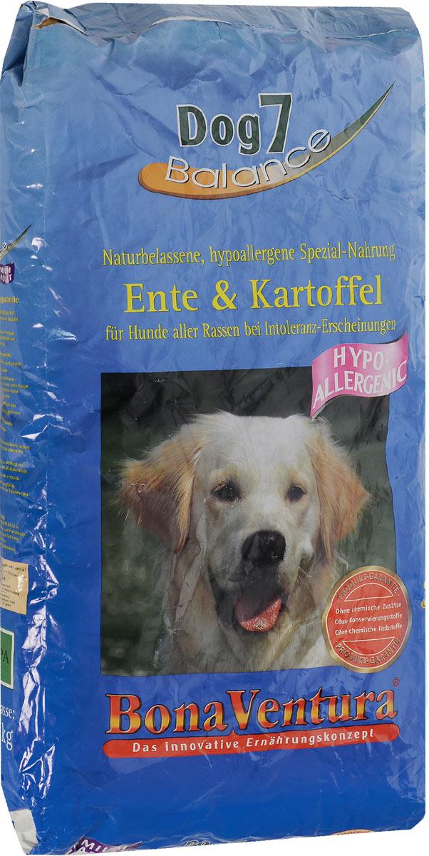 Корм сухой BonaVentura Dog 7 Hipo Allergenic для собак, гипоаллергенный, с уткой и картофелем, 12,5 кг205812Натуральный сухой корм BonaVentura Dog 7 Hipo Allergenic предназначен для собак, склонных к аллергии. Он произведен из продуктов, пригодных в пищу человека по специальной технологии, схожей с технологией Sous Vide. Благодаря технологии при изготовлении сохраняются все натуральные витамины и минералы. Это достигается благодаря бережной обработке всех ингредиентов при температуре менее 80 градусов. Такая бережная обработка продуктов не стерилизует продуктовые компоненты. Благодаря этому корма не нуждаются ни в каких дополнительных вкусовых добавках и сохраняют все необходимые полезные вещества. При производстве кормов используются исключительно свежие натуральные продукты: мясо, овощи и зерновые; Приготовлено из 100% свежего мяса, пригодного в пищу человеку; Содержит натуральные витамины, аминокислоты, минеральные вещества и микроэлементы; С экстрактом масла зародышей зерна пшеницы холодного отжима (Bio-Dura); Без химических красителей, усилителей...