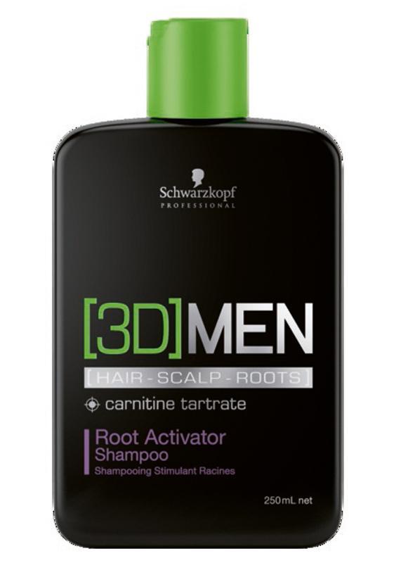 [3D]Men Шампунь активатор роста волос – очищение Root Activator Shampoo 250 мл1853312Шампунь Активатор роста волос. Для мужчин. Стимулирует волосянные луковицы и помогает волосам восстановить плотность, а также сокращает потерю волос. Пантенол , таурин и карнитин - это три ключевых компонента, которые воздействуют одновременно на волосы, кожу головы и корни волос, влияя на факторы роста волос и доставляя питательные вещества в волосяные фолликулы. Для достижения максимального результата рекомендуется использовать в комплексе с сывороткой активатором роста волос [3D]MEN Root Activator.